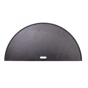 half moon cast iron griddle