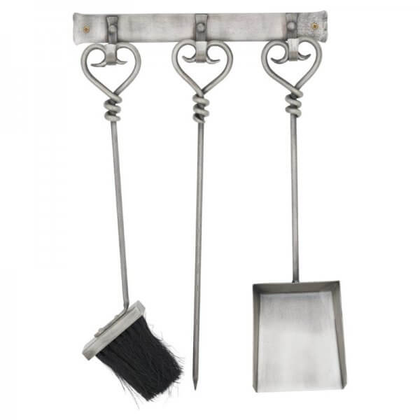 Hanging Pewter Companion Set