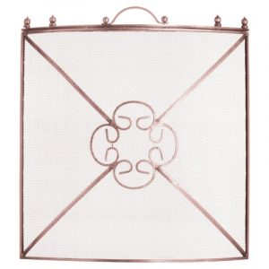 Mesh Copper Effect Fireguard