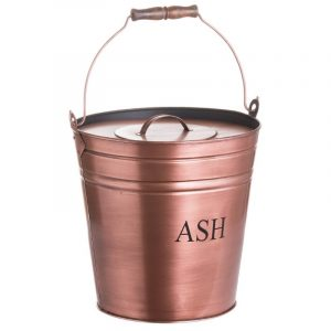 copper ash bucket