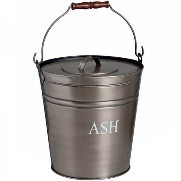 pewter ash bucket