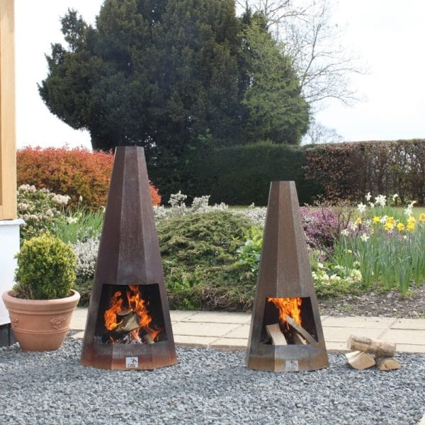 apollo chiminea used