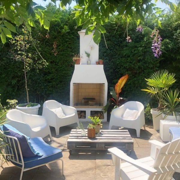 schiedel garden fireplace